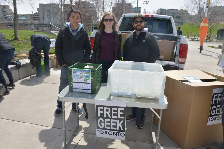 Donate Your Unwanted Electronics @ Free Geek Toronto